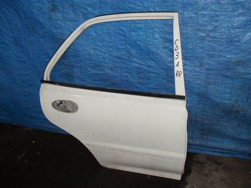 Дверь Mitsubishi Lancer CD3A 4G91 1993 задняя правая