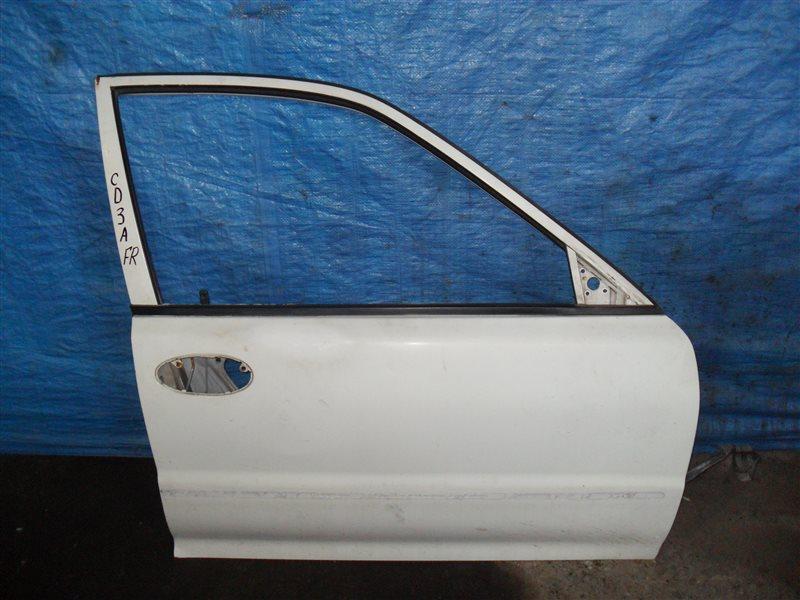 Дверь Mitsubishi Lancer CD3A 4G91 1993 передняя правая