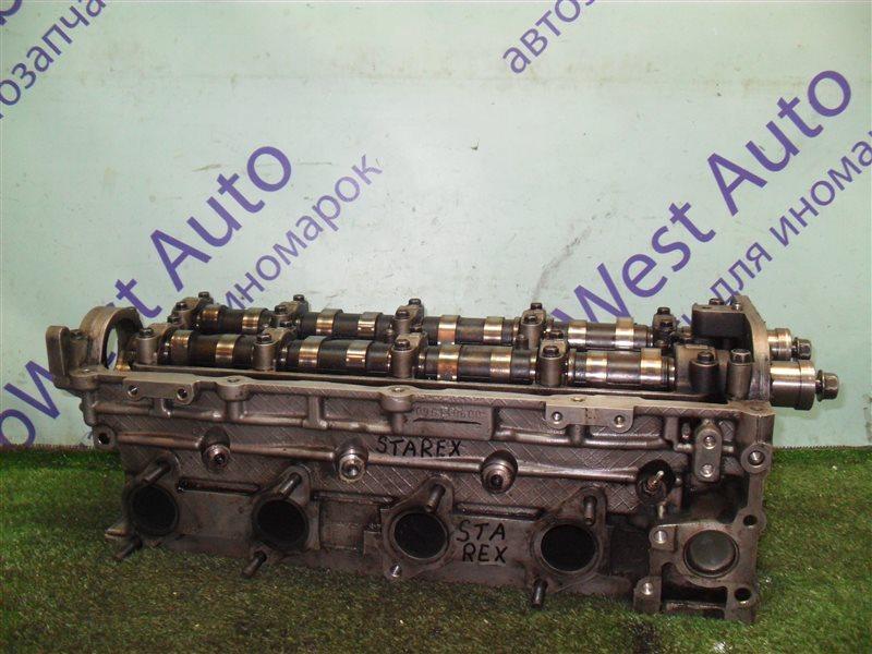 Головка блока цилиндров Hyundai Starex TQ D4CB 2010