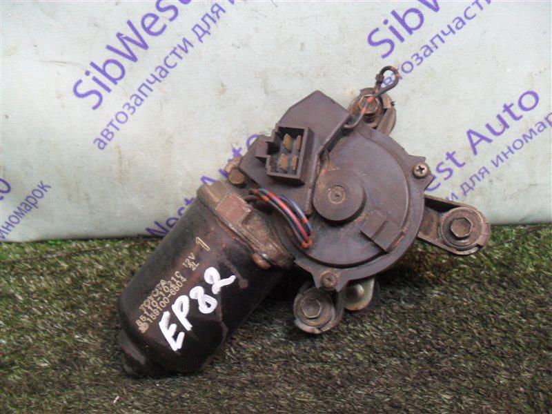 Мотор дворников Toyota Starlet EP82 4E-F 1991