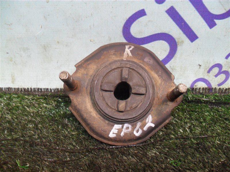 Опора стойки Toyota Starlet EP82 4E-F 1991 задняя