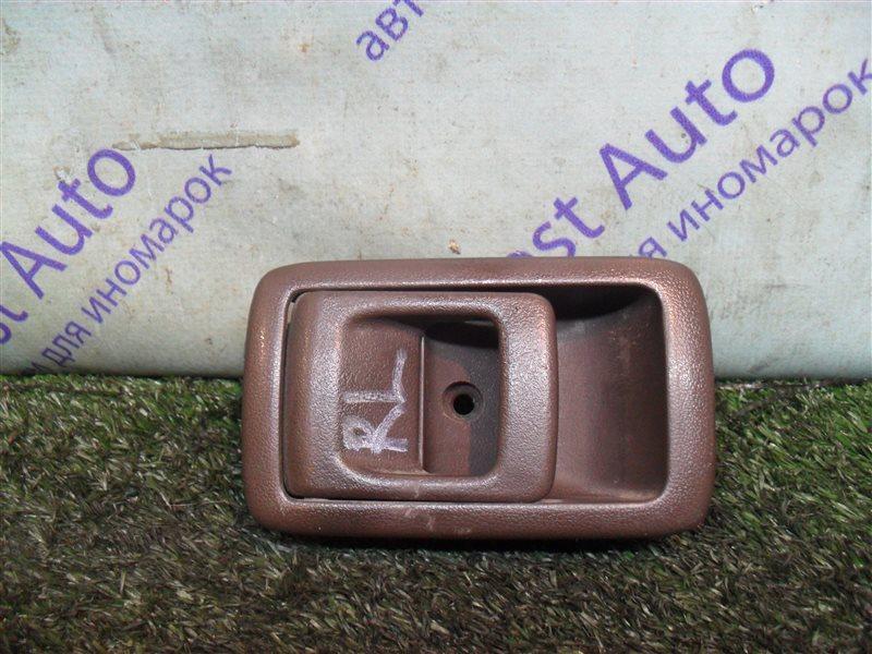 Ручка двери внутренняя Toyota Starlet EP82 4E-F 1991 задняя левая