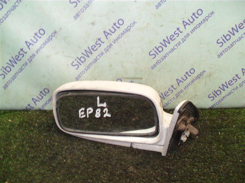 Зеркало Toyota Starlet EP82 4E-F 1991 левое