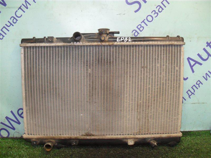 Радиатор основной Toyota Starlet EP82 4E-F 1991