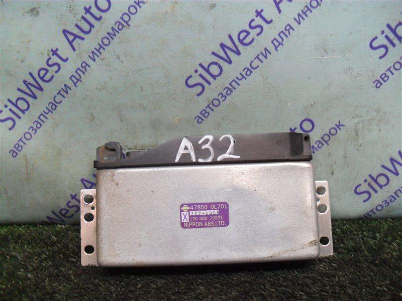 Блок управления abs Nissan Cefiro A32 VQ20DE 1997