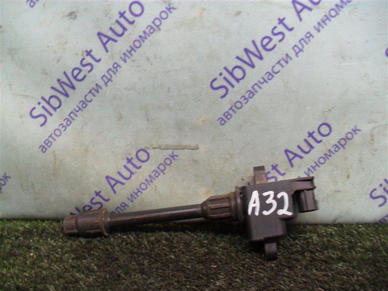 Катушка зажигания Nissan Cefiro A32 VQ20DE 1997 задняя