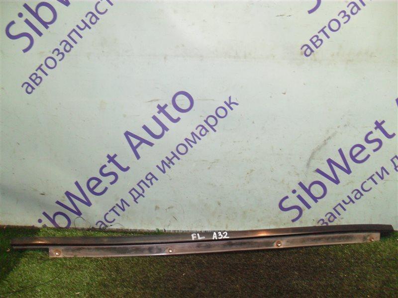 Молдинг лобового стекла Nissan Cefiro A32 VQ20DE 1997 передний левый