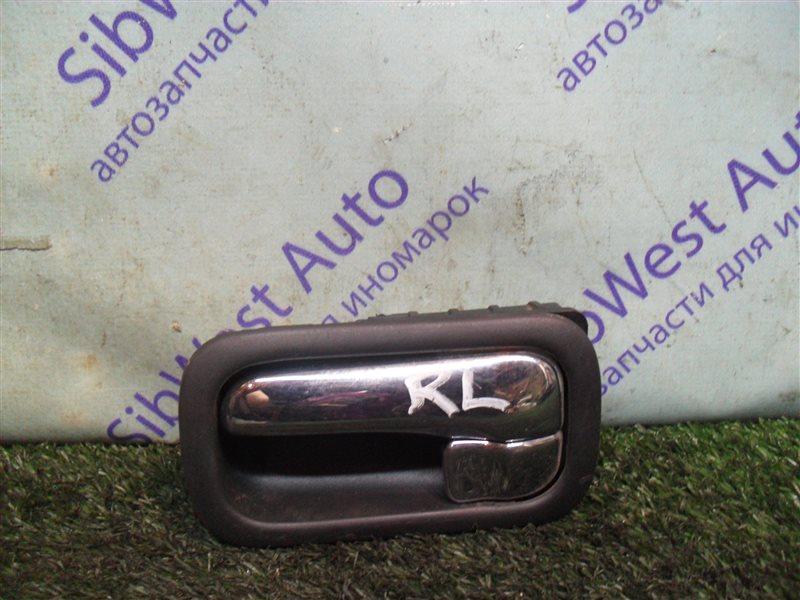 Ручка двери внутренняя Nissan Cefiro A32 VQ20DE 1997 задняя левая