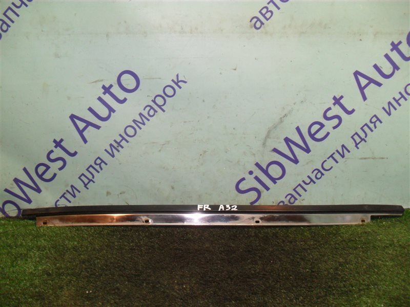 Молдинг лобового стекла Nissan Cefiro A32 VQ20DE 1997 передний правый
