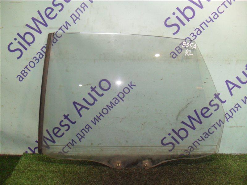 Стекло двери Mitsubishi Eterna E35A 4G67 1990 заднее левое