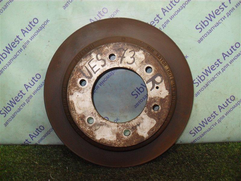 Тормозной диск Isuzu Wizard UES73FW 4JX1 2000 задний