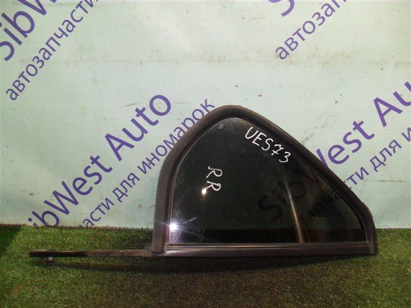 Форточка двери Isuzu Wizard UES73FW 4JX1 2000 задняя правая