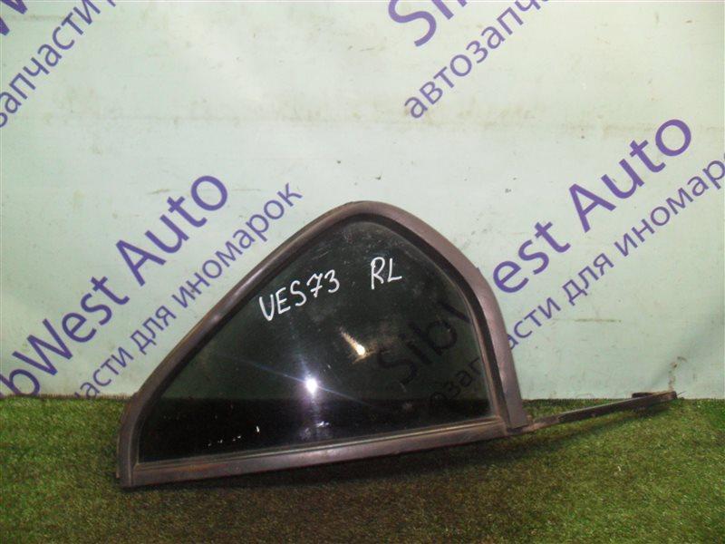 Форточка двери Isuzu Wizard UES73FW 4JX1 2000 задняя левая