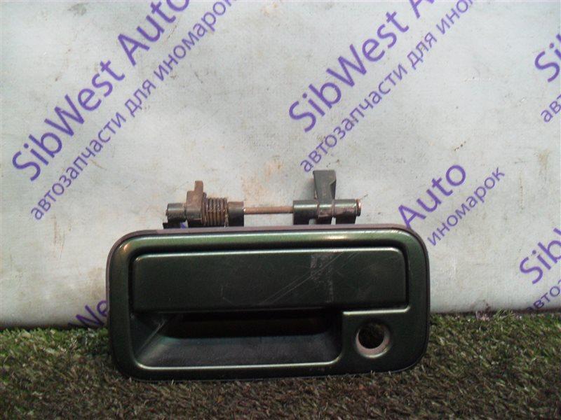 Ручка двери внешняя Isuzu Wizard UES73FW 4JX1 2000 передняя левая
