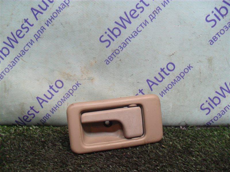 Ручка двери внутренняя Isuzu Wizard UES73FW 4JX1 2000 задняя левая