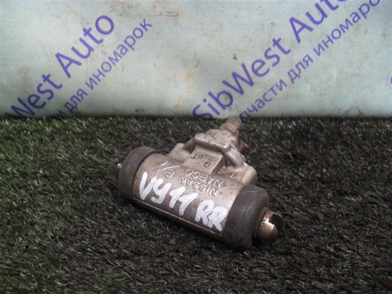 Тормозной цилиндр Nissan Ad VY11 QG13DE 2000 задний правый