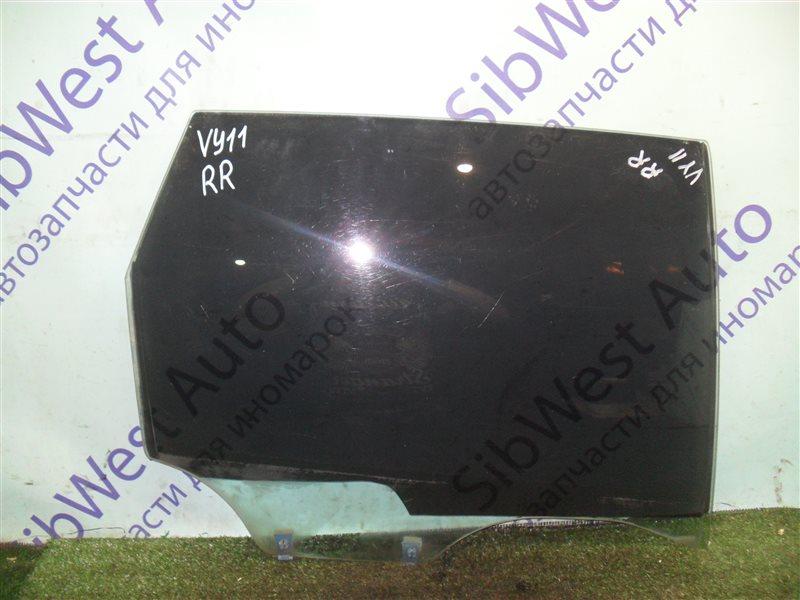 Стекло двери Nissan Ad VY11 QG13DE 2000 заднее правое