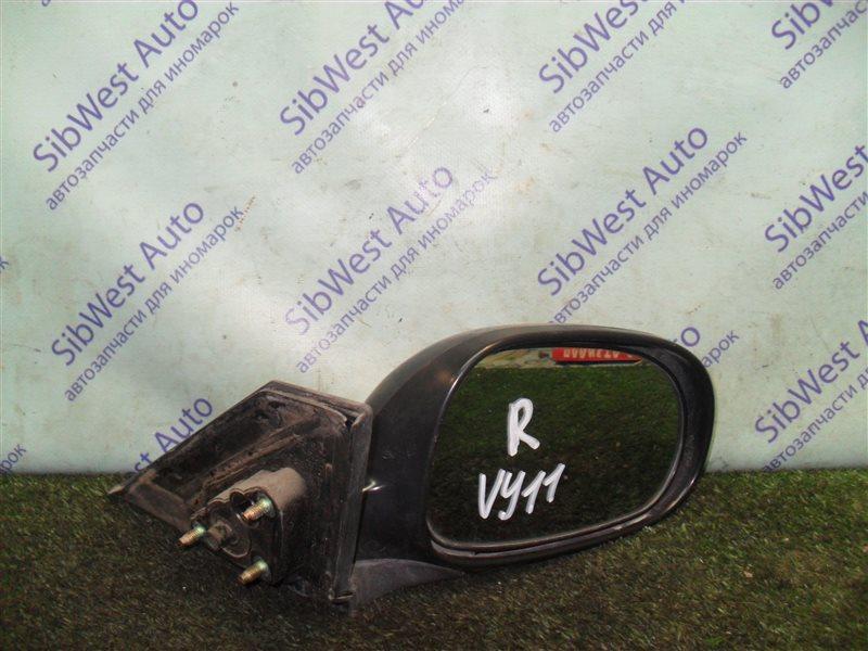 Зеркало Nissan Ad VY11 QG13DE 2000 переднее правое