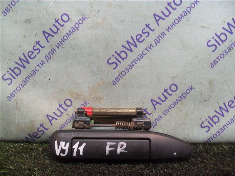 Ручка двери внешняя Nissan Ad VY11 QG13DE 2000 передняя правая