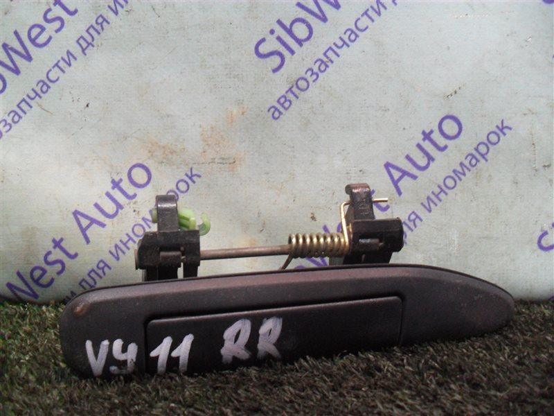 Ручка двери внешняя Nissan Ad VY11 QG13DE 2000 задняя правая
