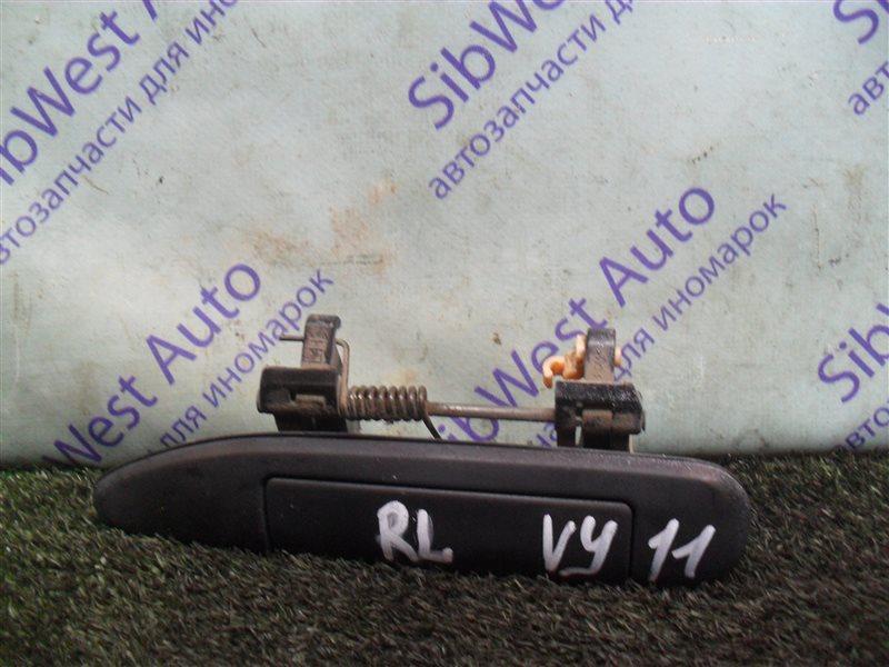 Ручка двери внешняя Nissan Ad VY11 QG13DE 2000 задняя левая