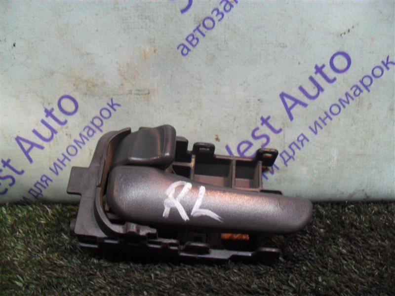 Ручка двери внутренняя Nissan Ad VY11 QG13DE 2000 задняя левая