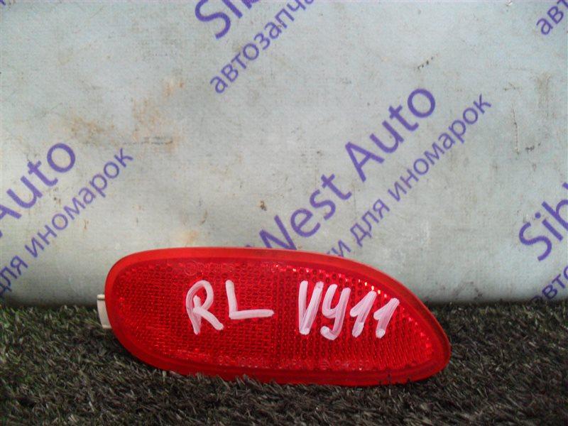 Катафот Nissan Ad VY11 QG13DE 2000 задний левый