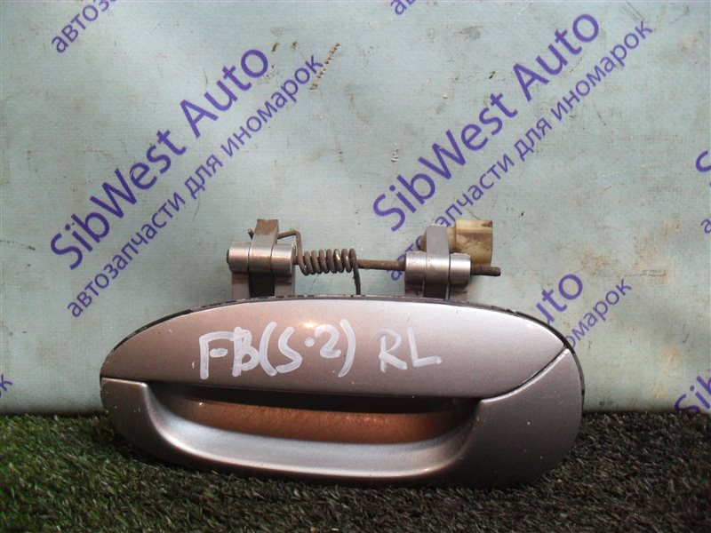 Ручка двери внешняя Kia Shuma FB S6D 2004 задняя левая