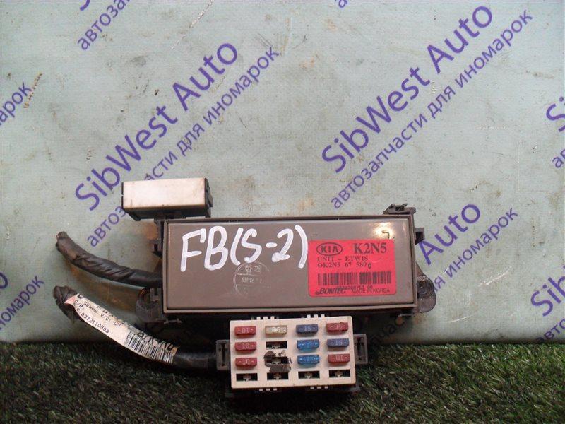 Электронный блок Kia Shuma FB S6D 2004