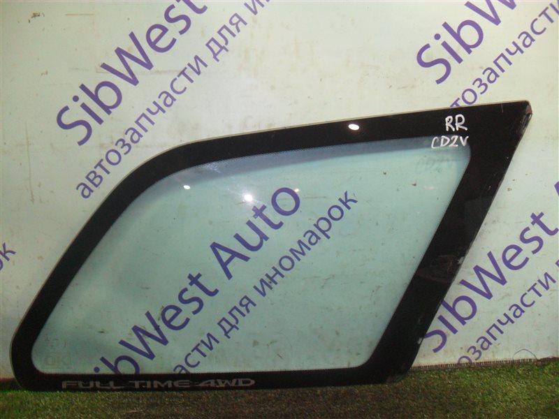 Стекло собачника Mitsubishi Libero CD2V 4G15 1993 заднее правое