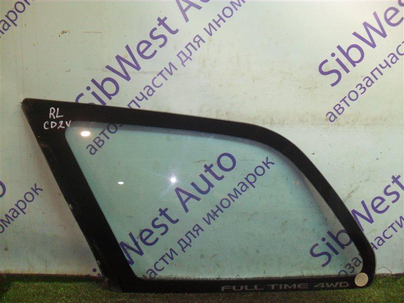 Стекло собачника Mitsubishi Libero CD2V 4G15 1993 заднее левое