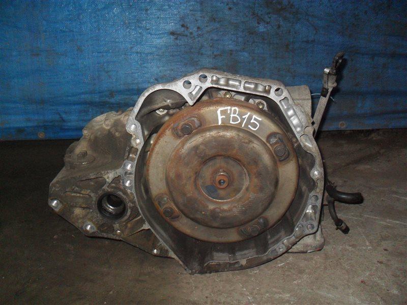 Акпп Nissan Sunny FB15 QG15DE 2001