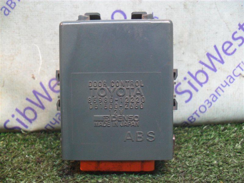 Электронный блок Toyota Corolla AE100 5A-FE 1993