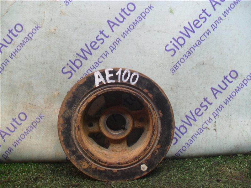 Шкив коленвала Toyota Corolla AE100 5A-FE 1993