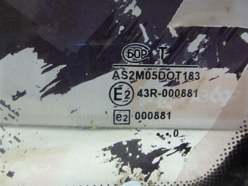 Стекло правое ВАЗ 2112 Хэтчбек 5 дв. 21124