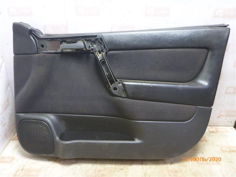 Обшивка двери Opel Astra G F70 X16SZR 1999 передняя правая