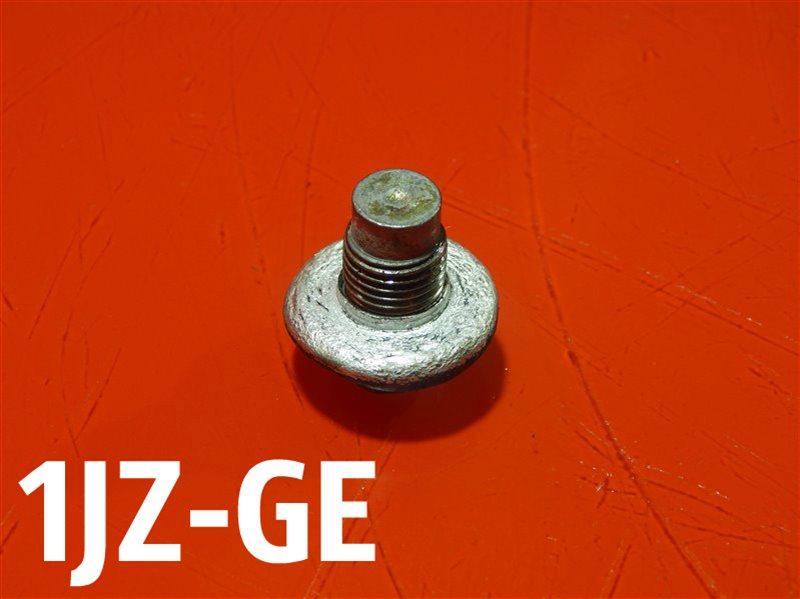 Пробка поддона сливная Toyota Chaser GF-JZX105 1JZ-GE