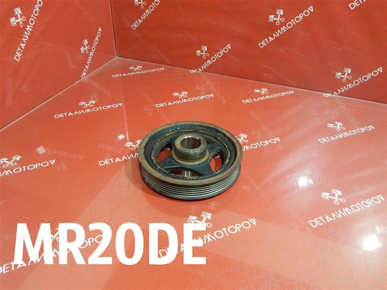 Шкив коленвала Nissan Bluebird Sylphy DBA-KG11 MR20DE