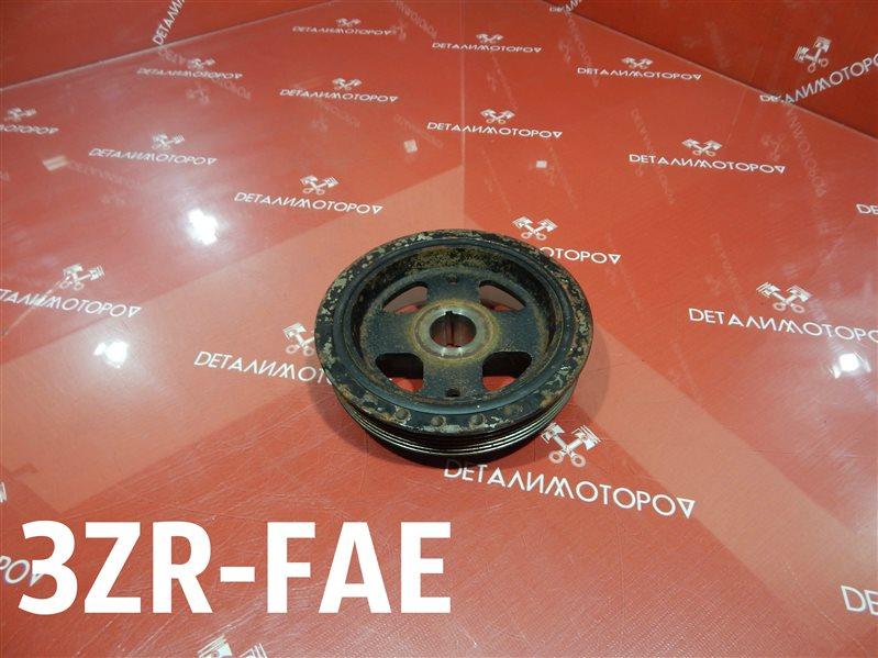 Шкив коленвала Toyota Allion DBA-ZRT261 3ZR-FAE