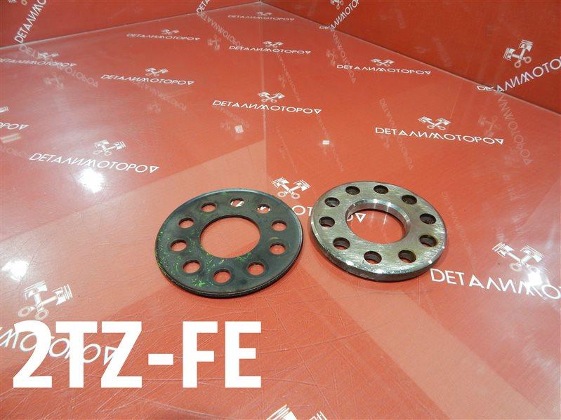 Шайба маховика Toyota Estima E-TCR21W 2TZ-FE
