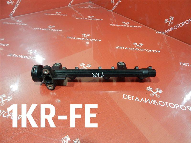 Топливная рейка Toyota Belta DBA-KSP92 1KR-FE