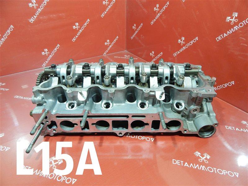 Головка блока цилиндров Honda Airwave DBA-GJ1 L15A