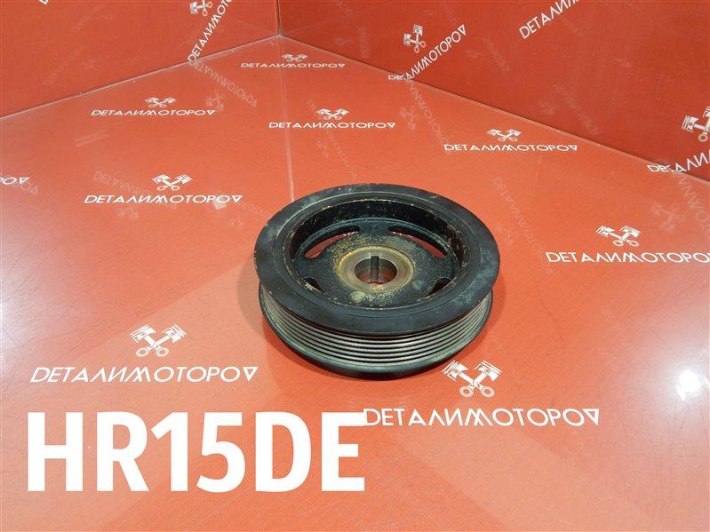 Шкив коленвала Nissan Ad DBF-VY12 HR15DE