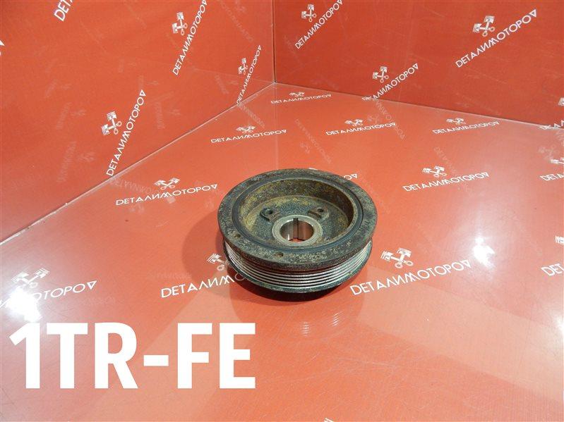 Шкив коленвала Toyota Hiace CBF-TRH200V 1TR-FE