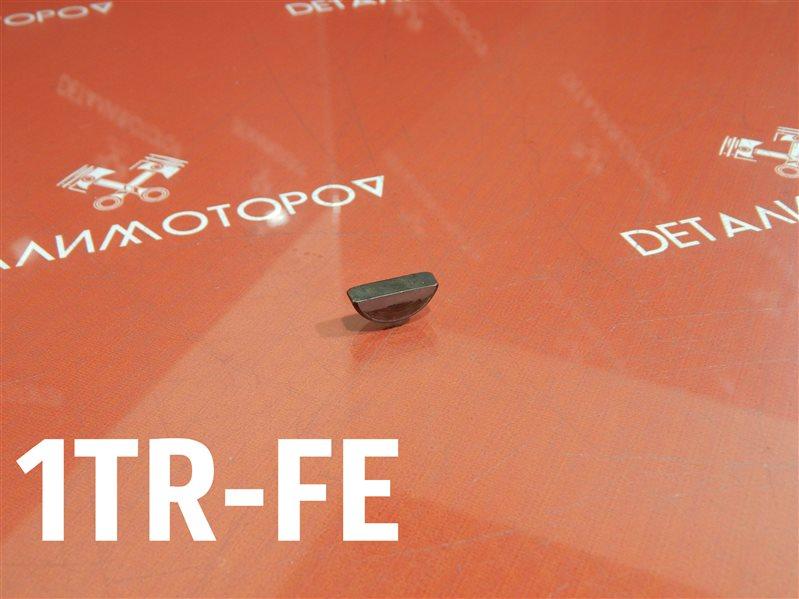 Шпонка коленвала Toyota Hiace CBF-TRH200V 1TR-FE