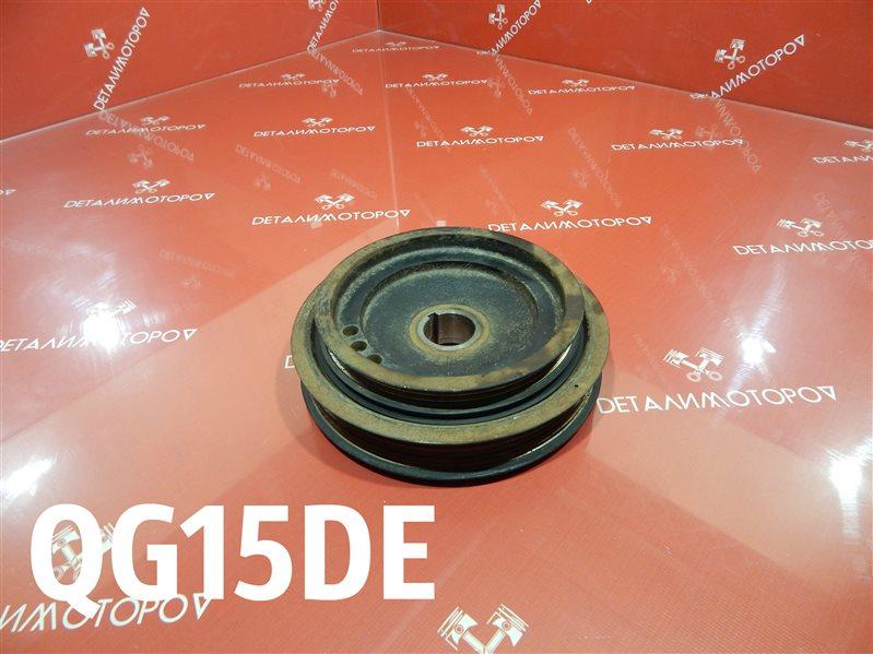Шкив коленвала Nissan Almera GJ-VFY11 QG15DE
