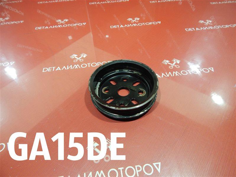 Шкив помпы Nissan Ad E-WFGY10 GA15DE