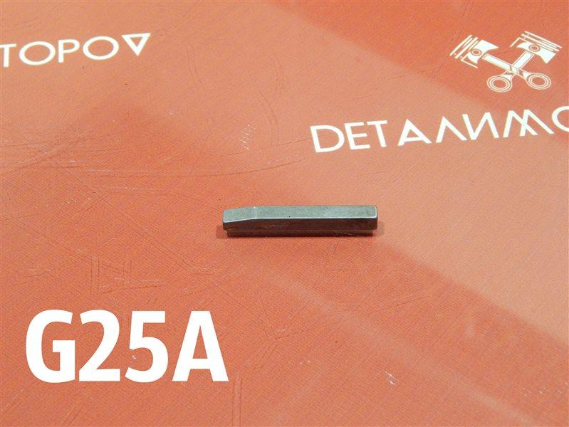 Шпонка коленвала Honda Ascot E-CE5 G25A
