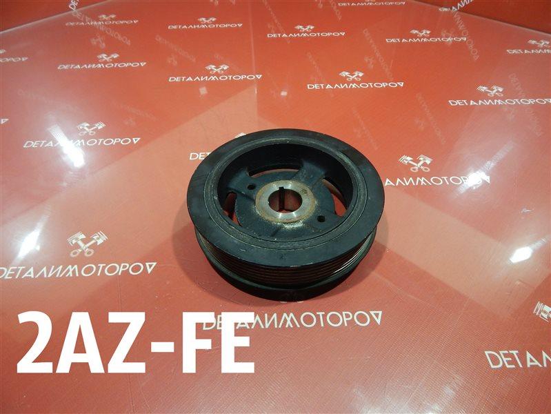 Шкив коленвала Toyota Alphard DBA-ANH20W 2AZ-FE