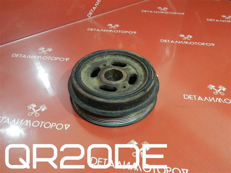 Шкив коленвала Nissan Avenir TA-RNW11 QR20DE